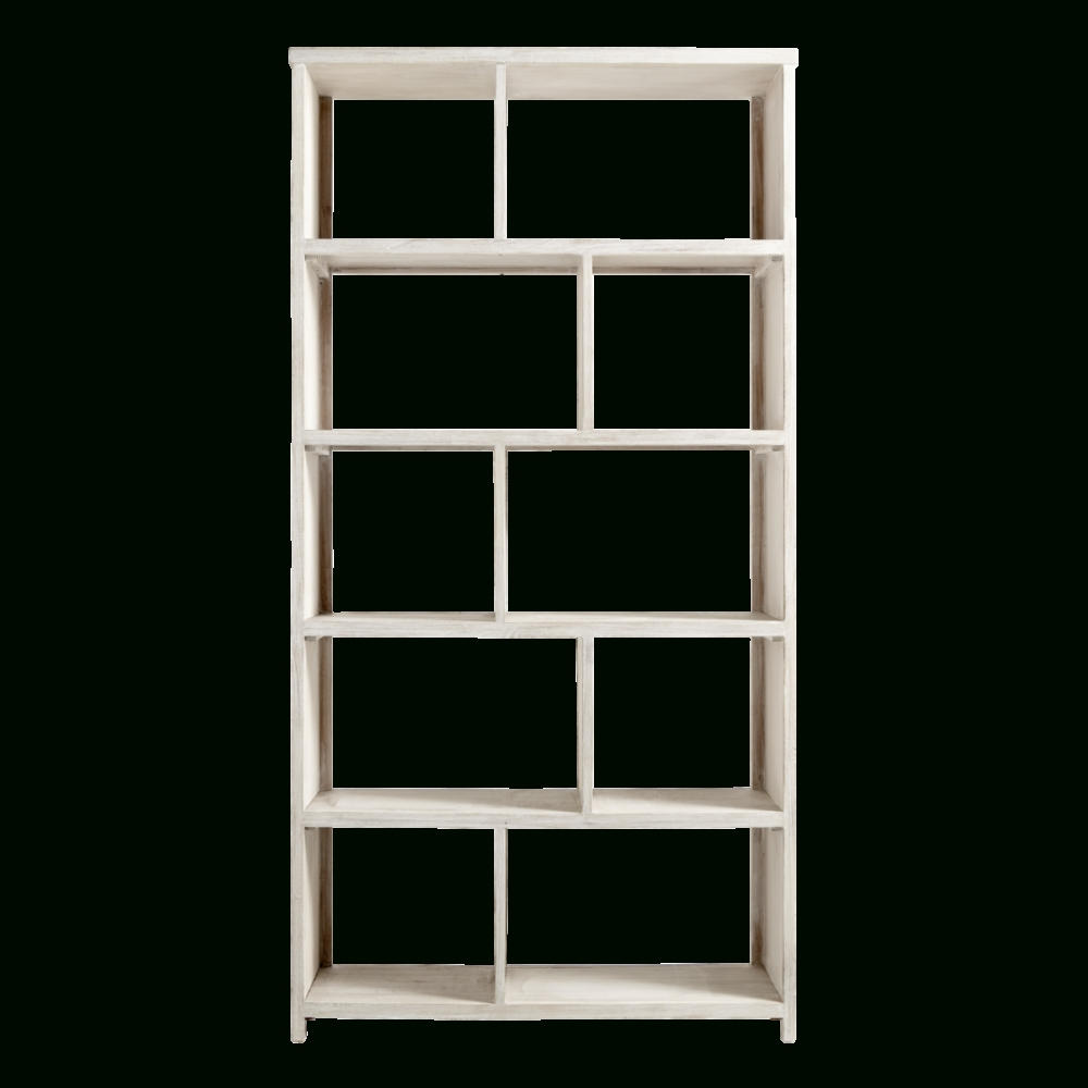 Whitewash Bookcases Regarding Preferred Coastal Oak Designs (View 15 of 15)