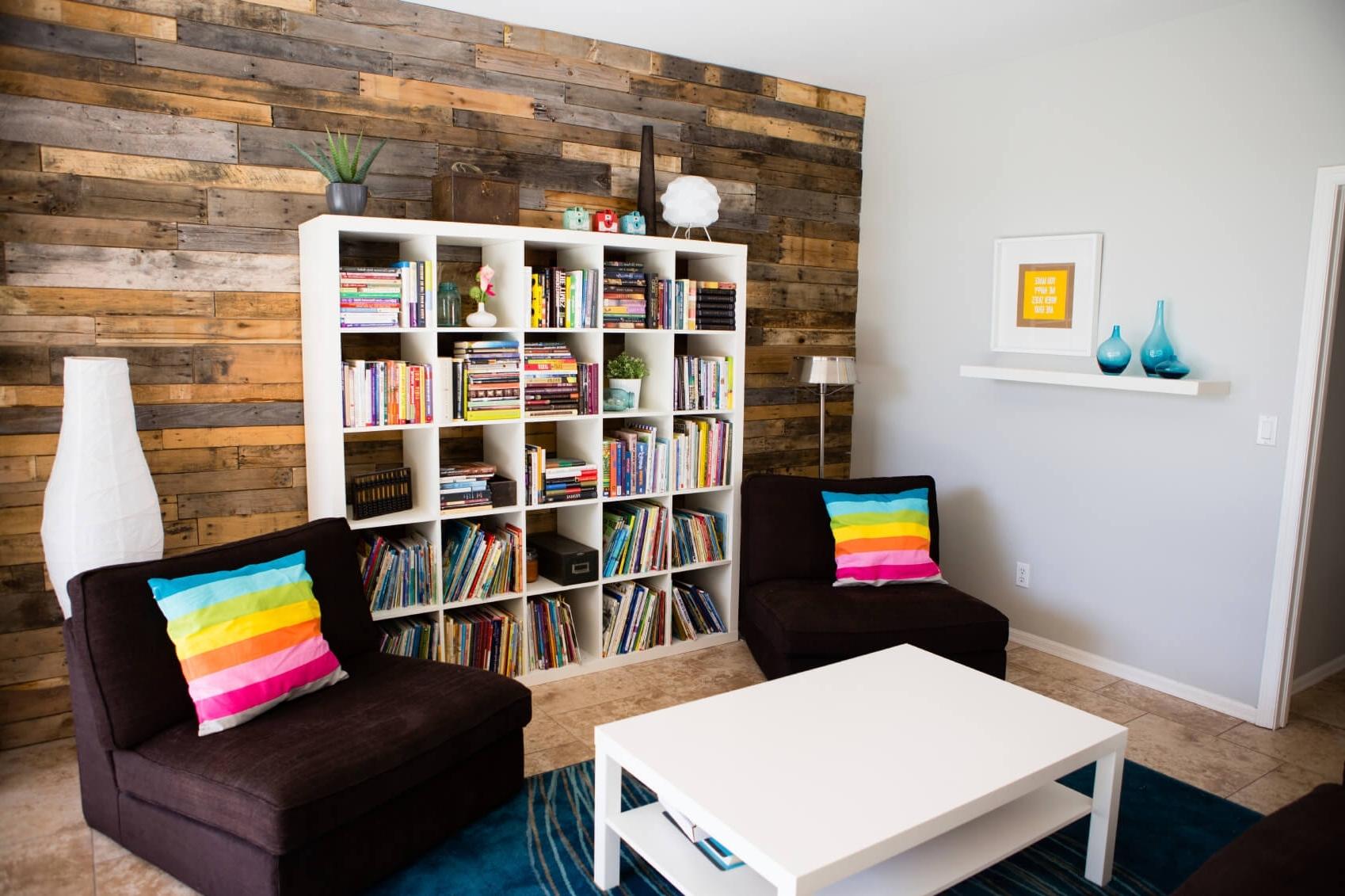 Whole Wall Bookshelves Regarding Famous Bookshelf For Wall Wall To Wall Bookcase Units Whole Wall (View 13 of 15)