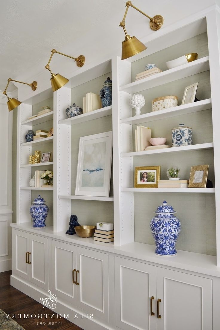 Whole Wall Shelves With Regard To Most Recent Best 25+ Bookcase Wall Ideas On Pinterest (View 10 of 15)