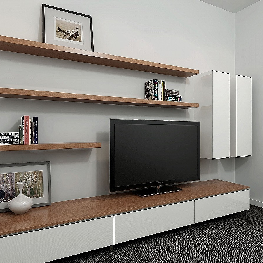 Whole Wall Shelving Units Beautiful Remodelaholic High Resolution With Regard To Current Whole Wall Shelves (View 13 of 15)