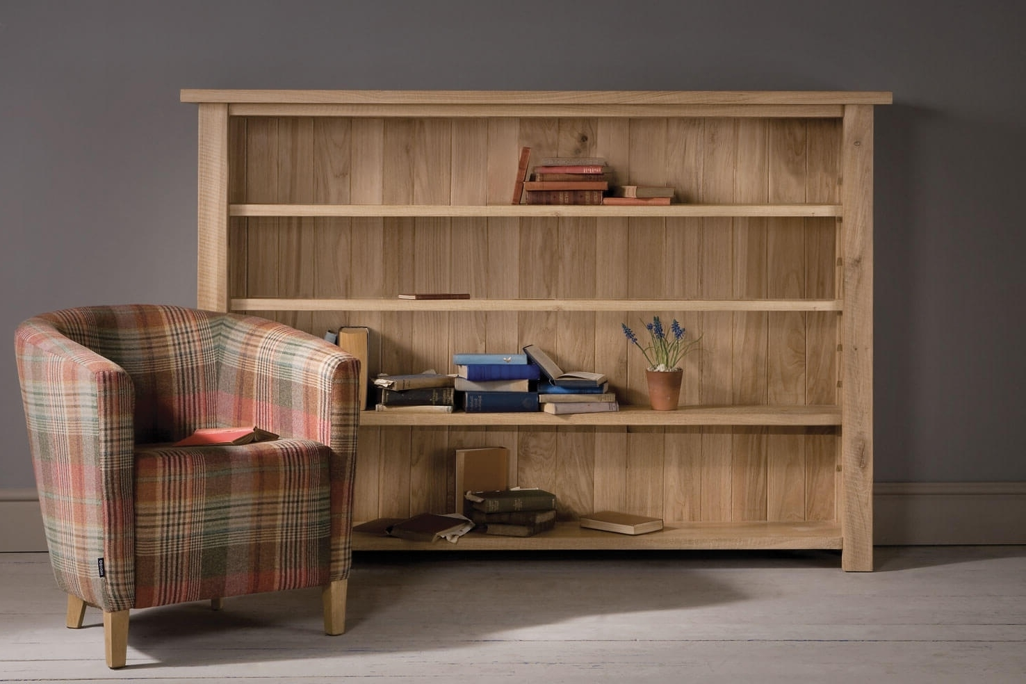 Wide Bookcases Intended For Most Up To Date Gorgeous Oak Bookcase And Organizer — Montserrat Home Design (View 10 of 15)