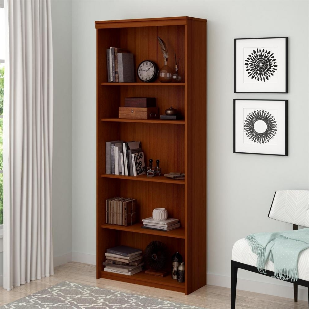 Widely Used Ameriwood Presley Expert Plum Open Bookcase 9416083st – The Home Depot Inside Ameriwood 5 Shelf Bookcases (View 10 of 15)