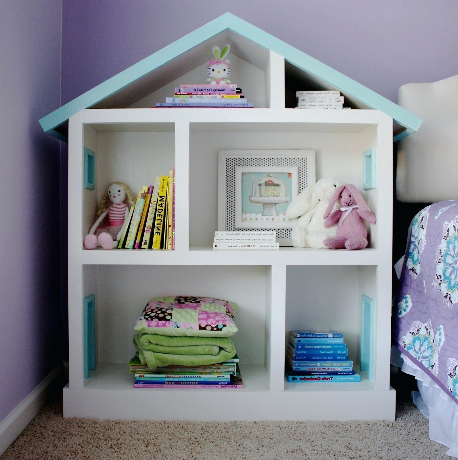 Widely Used Baby Bookcases With Girls Bookcase Baby Girl Bookcases For Room Dollhouse – Nishiden (View 10 of 15)
