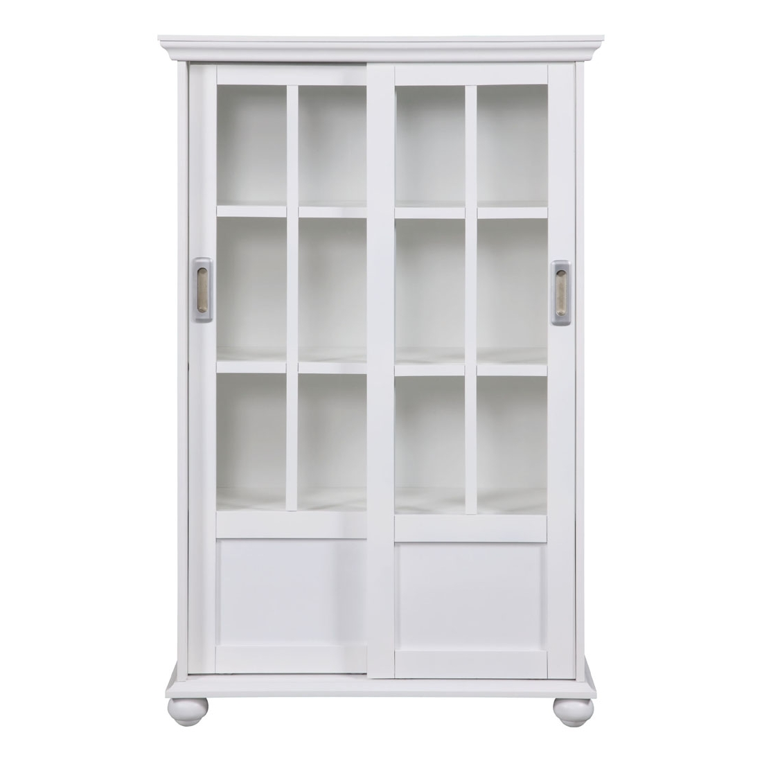 Widely Used Bookcases With Sliding Glass Doors Regarding Altra Bookcase With Sliding Glass Doors (View 8 of 15)