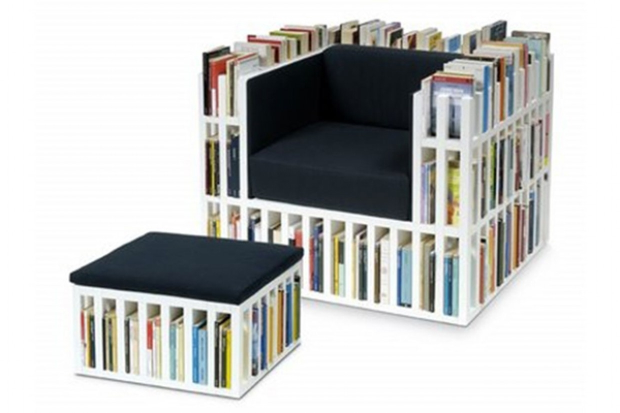 Widely Used Chair Bookcases Regarding Bookcase Chairs (View 14 of 15)
