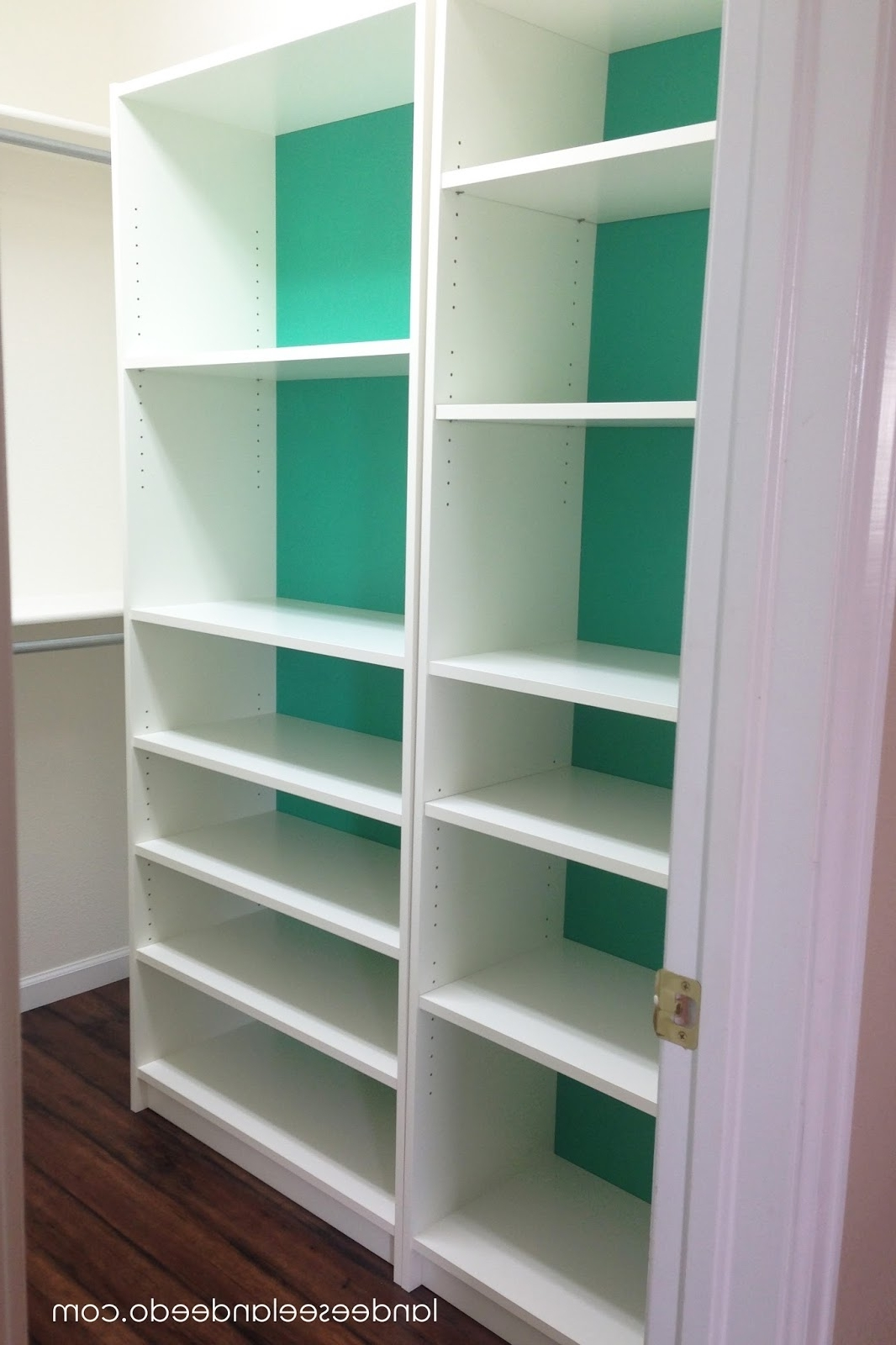 Widely Used Closet Makeover: Ikea Billy Bookcases – Landeelu Inside Bookcases Cupboard (View 4 of 15)