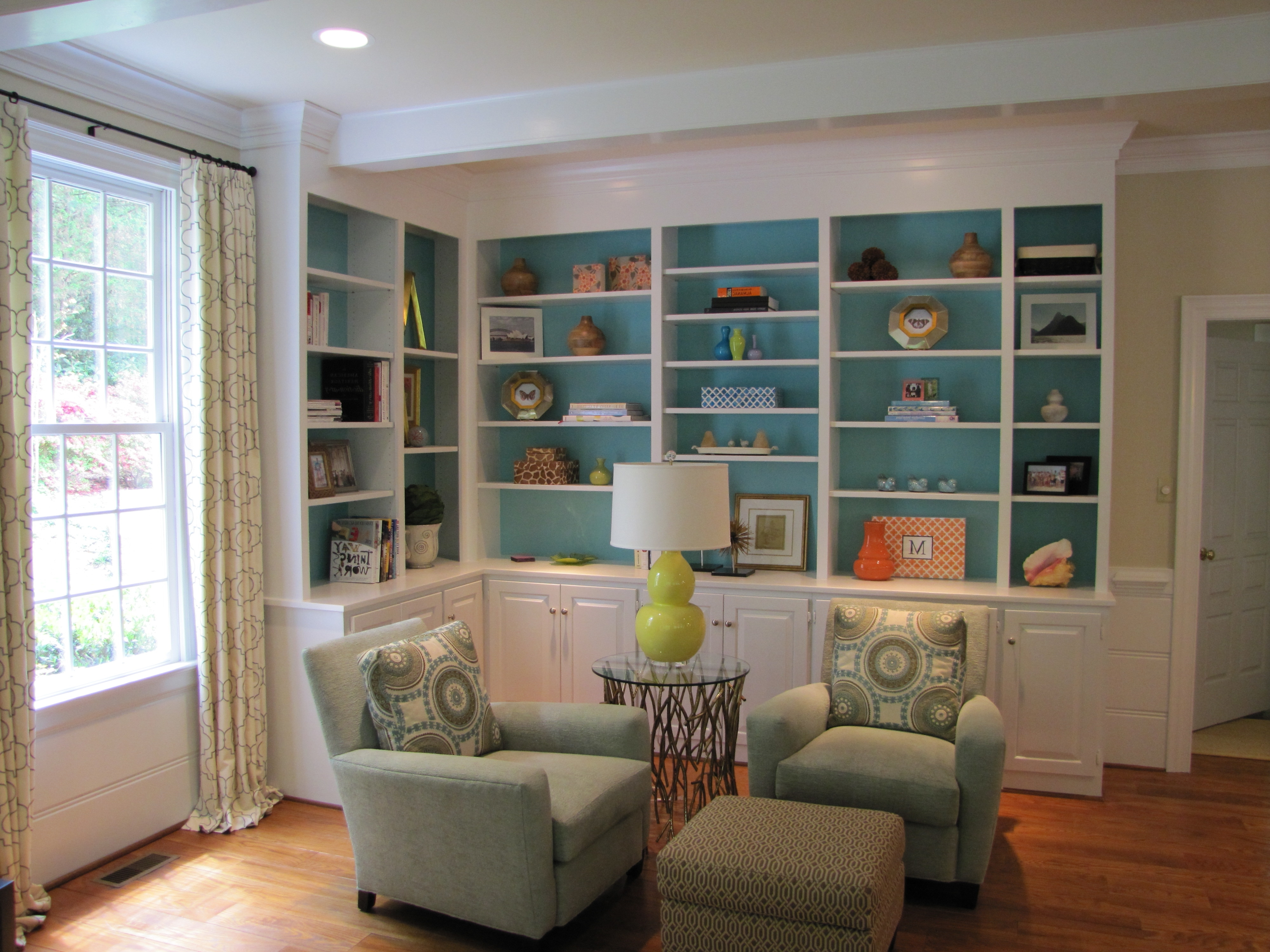 Widely Used Colored Bookcases For Painted Bookcases (View 11 of 15)