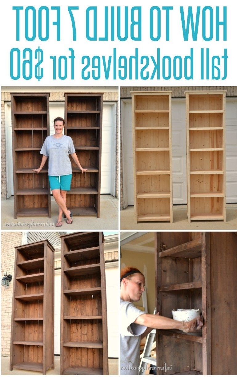 Widely Used Diy Bookcases Plans Within 51 Diy Bookshelf Plans & Ideas To Organize Your Precious Books (View 15 of 15)
