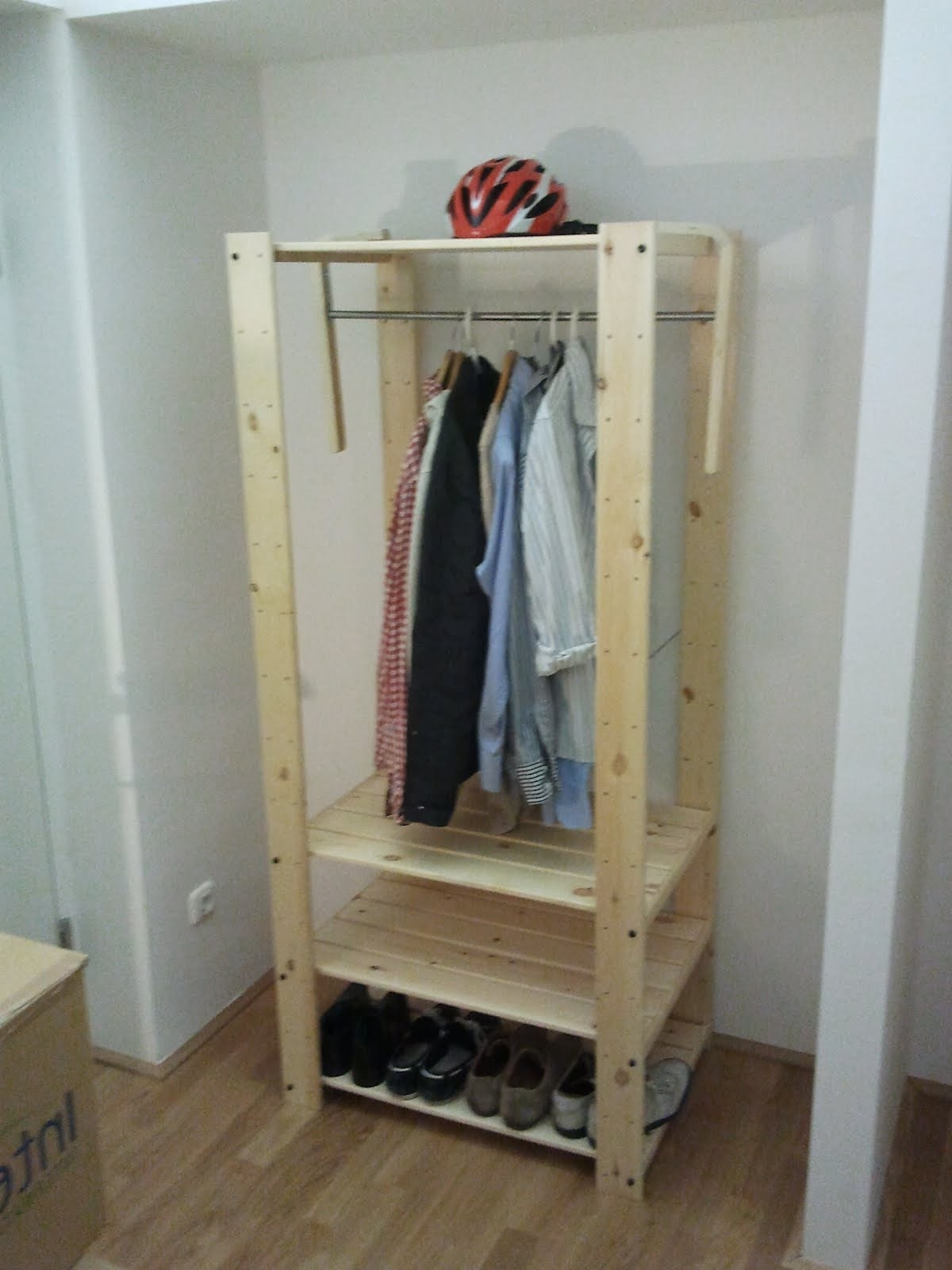 Widely Used Double Rail Wardrobes Ikea With Regard To The 40 Euro Wardrobe – Ikea Hackers (View 10 of 15)