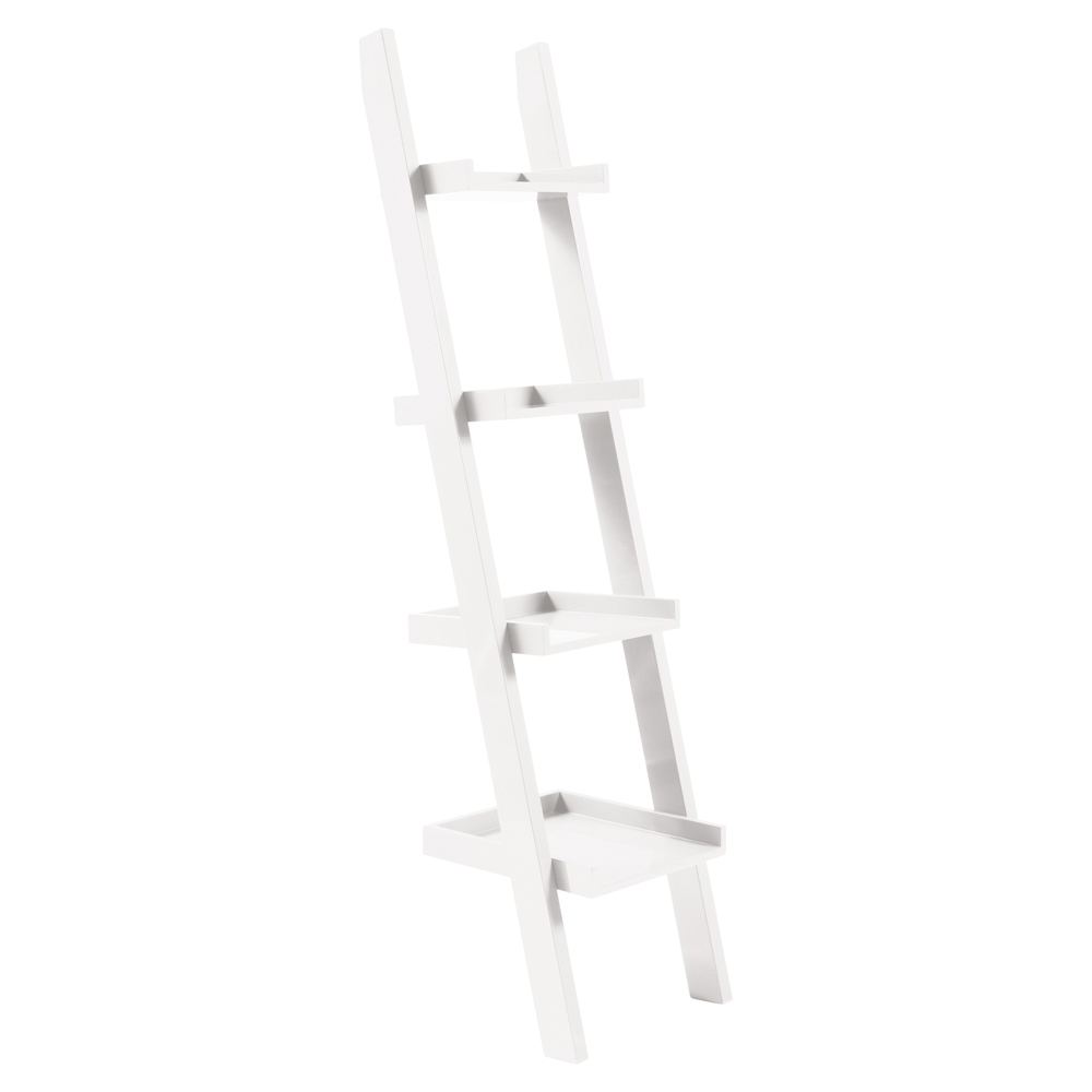 Widely Used Escala Shelf White – Dwell For White Ladder Shelf (View 14 of 15)