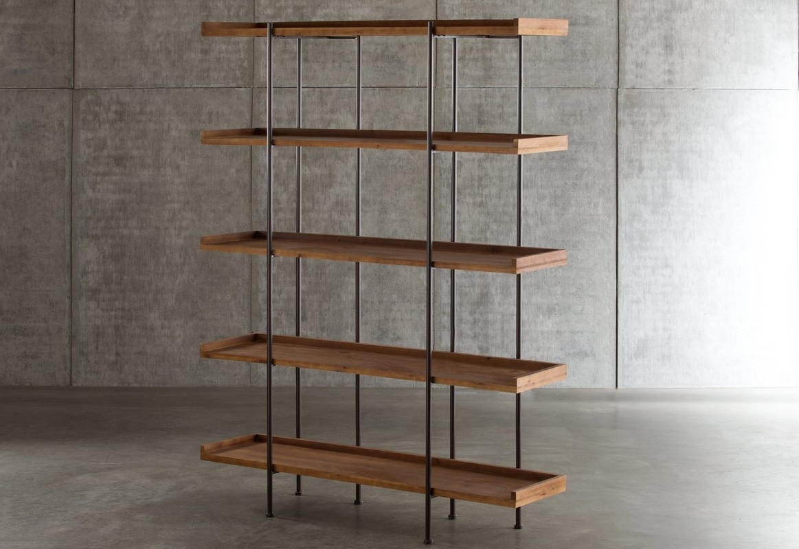 Widely Used Etagere Bookcases For Laurel Foundry Modern Farmhouse Wanda Etagere Bookcase & Reviews (View 15 of 15)