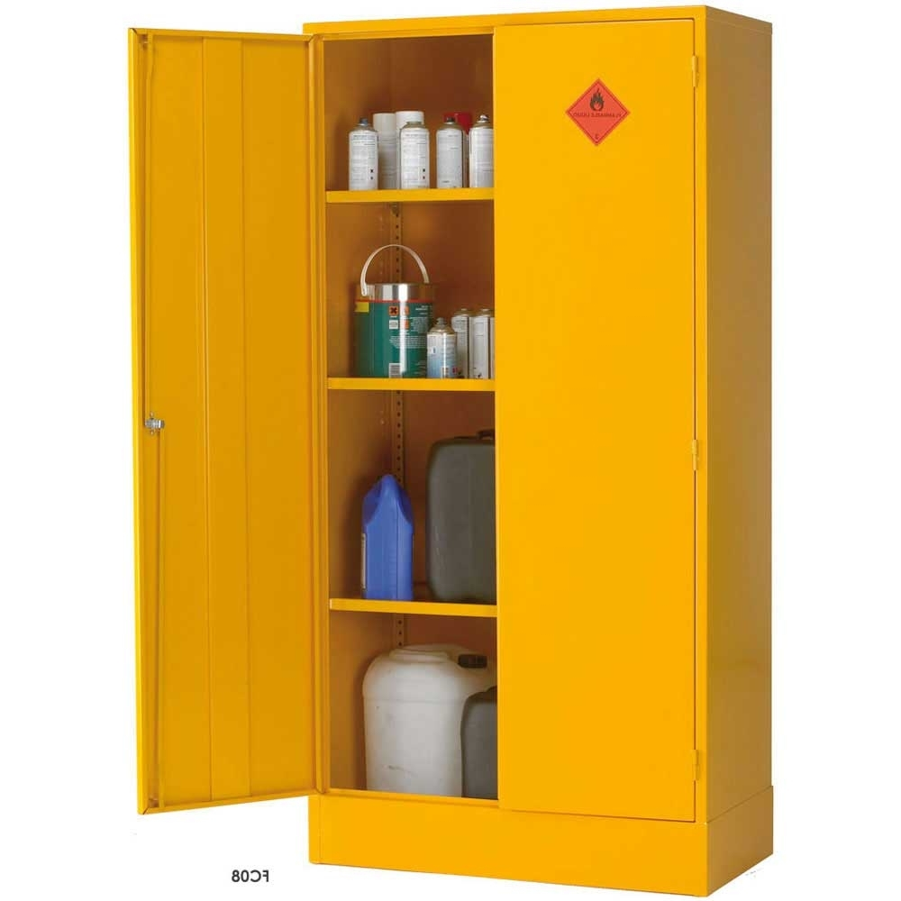 Widely Used Flammable Liquid Storage Cabinets / Cupboards – Ese Direct With Regard To Cupboards (View 12 of 15)