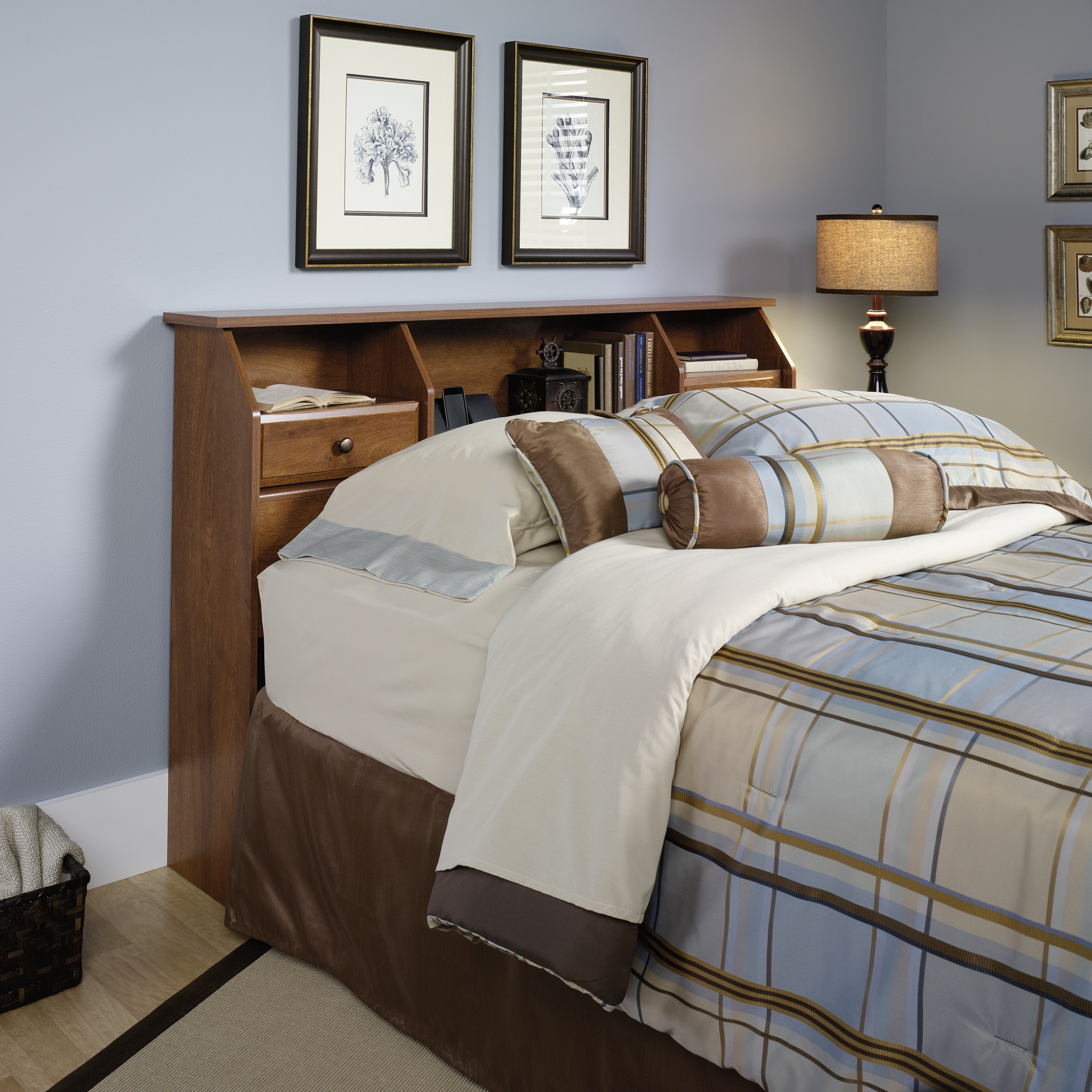 Widely Used Full Size Headboard Bookcases Inside Shoal Creek (View 14 of 15)