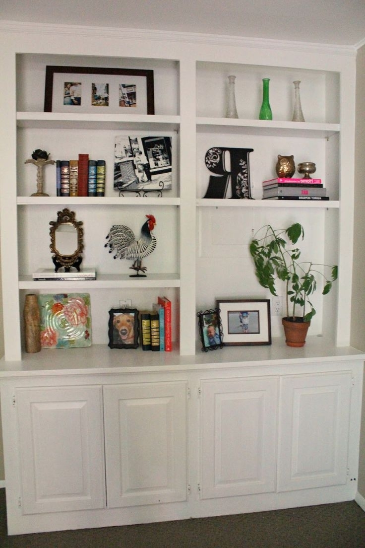 Widely Used Furniture Home: Wall Units Glamorous Built In Bookcase Kit Kits With Built In Bookcases Kit (View 13 of 15)
