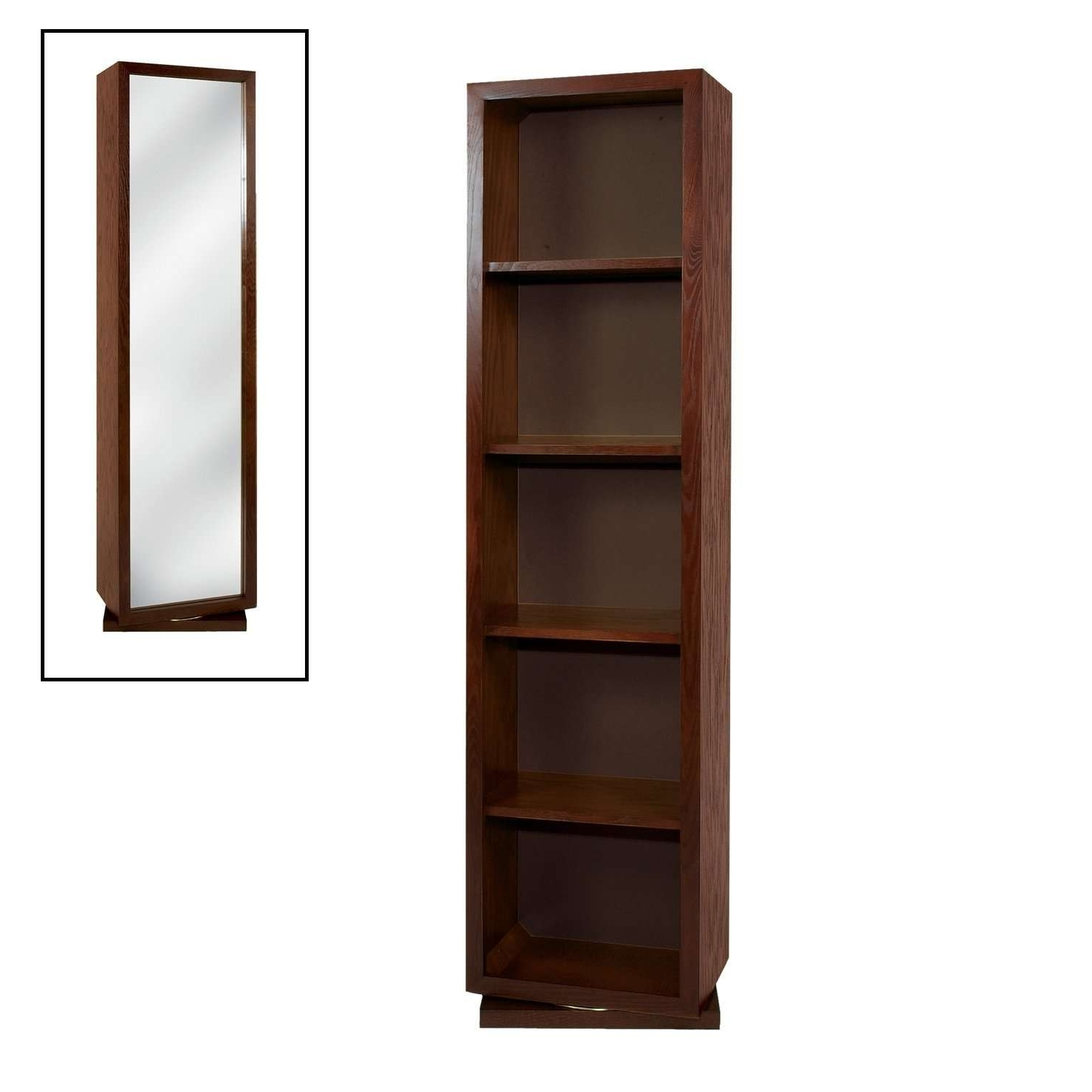 Widely Used Mirrored Bookcase Tall : Doherty House – Mirrored Bookcase Ideas For Mirrored Bookcases (View 2 of 15)