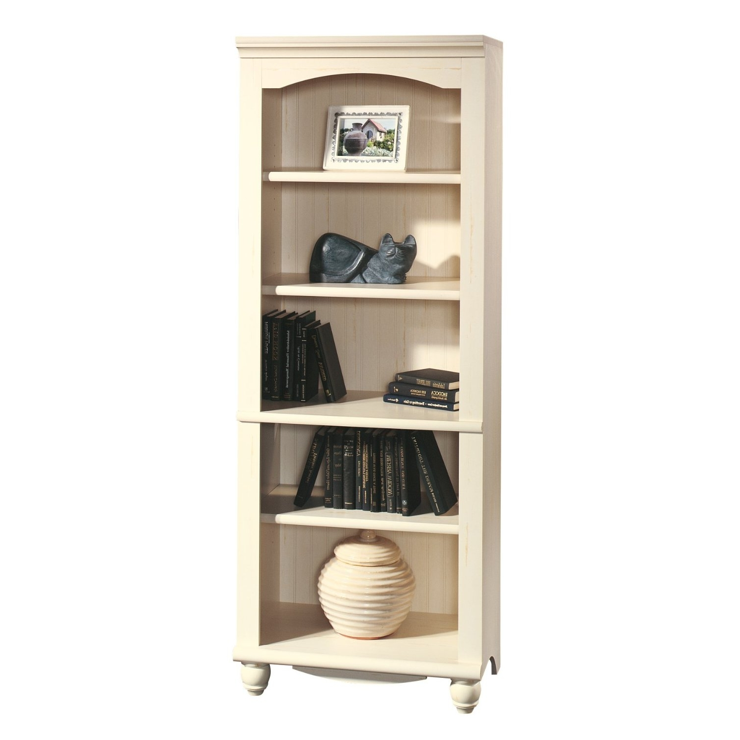 Featured Photo of Off White Bookcases