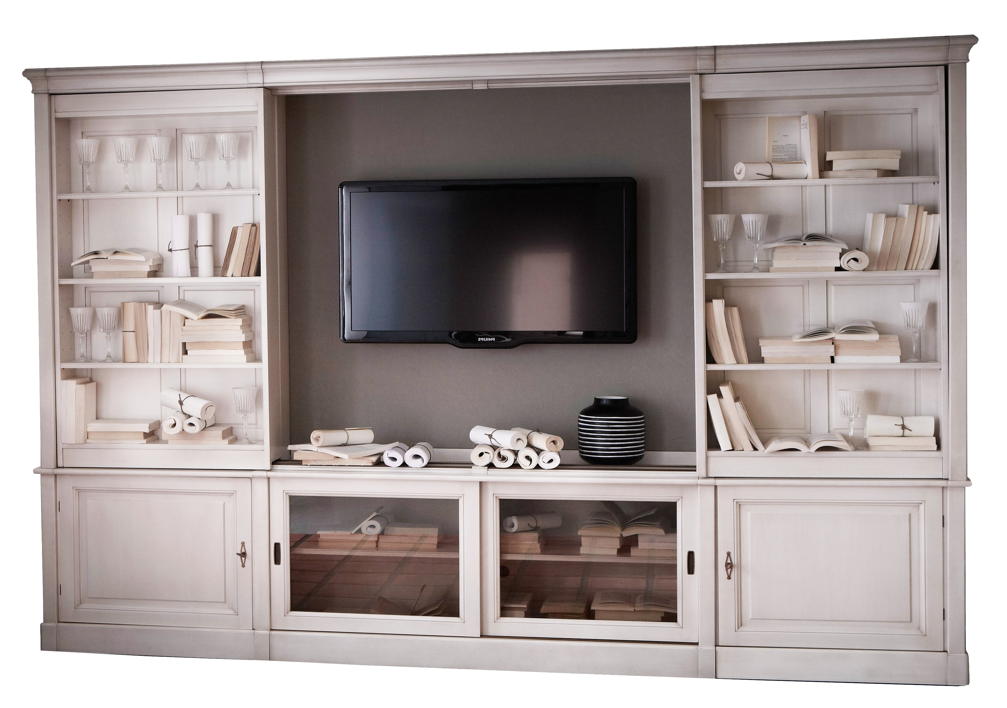 Widely Used Tv Book Case For Sliding Tv Bookcase Wall Unit Full Wall Bookshelves Diy High (View 12 of 15)