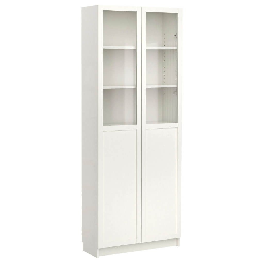 Widely Used White Bookcases With Cupboard Intended For Furniture: Tall Bookcase With Doors – 23 – Tall Bookcase With (View 14 of 15)