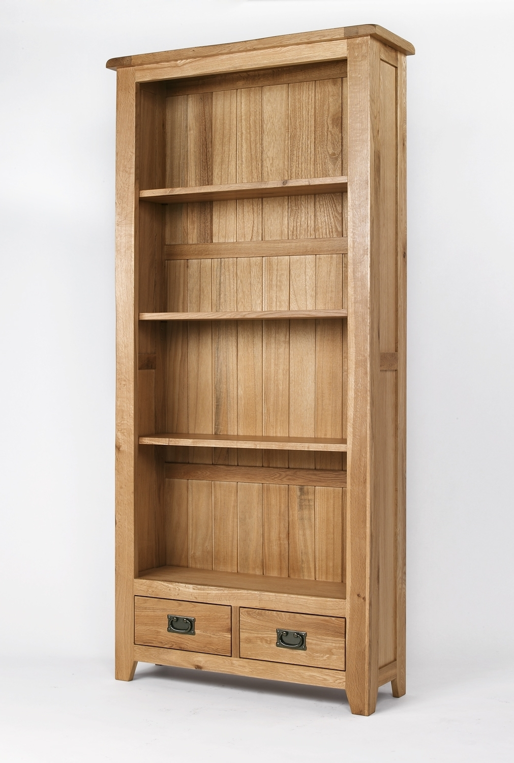 Wood Bookcases For Newest Bookcases Ideas: Amish Bookcases Furniture In Solid Wood Oak (View 5 of 15)