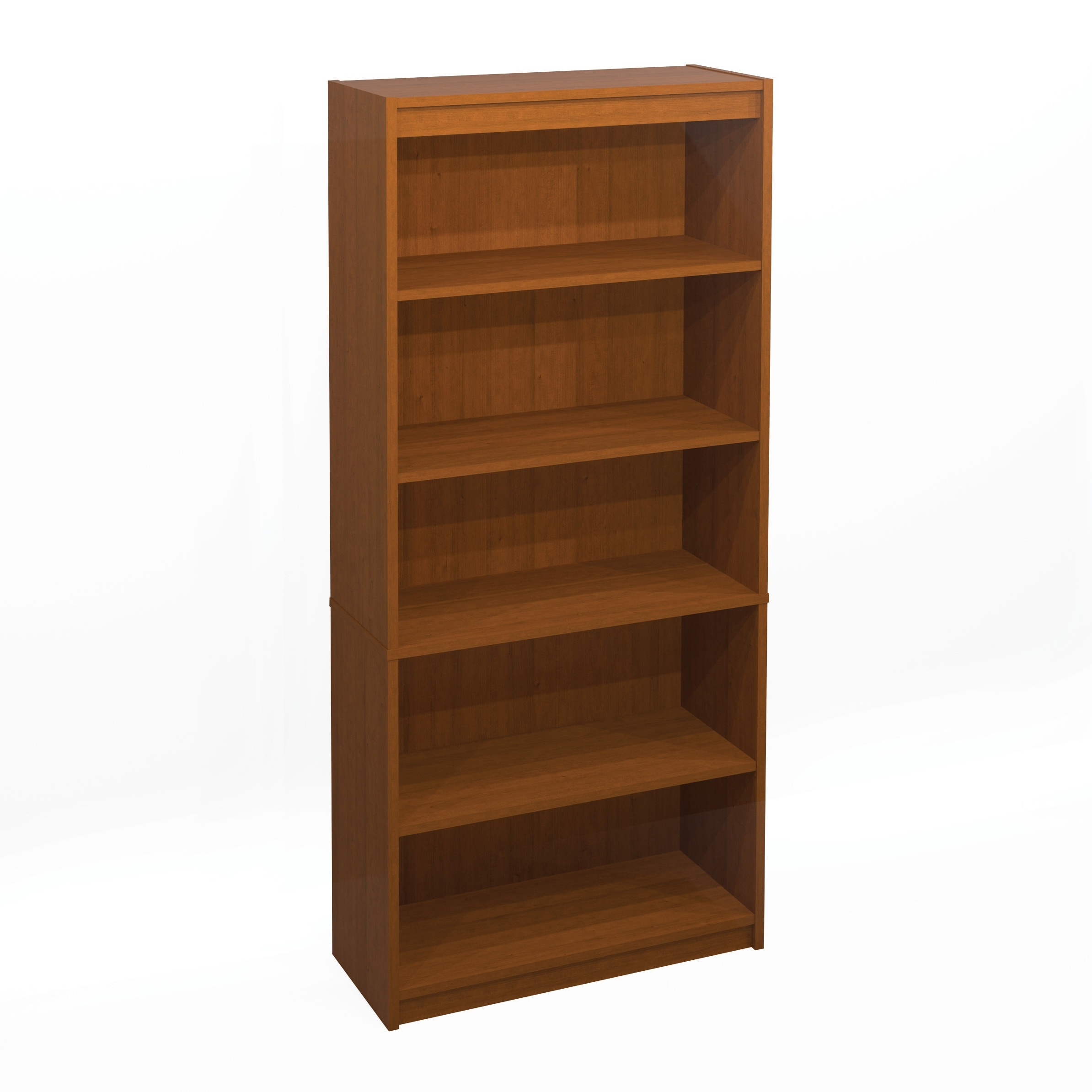 Wooden Bookshelves Within 2017 Decoration : Small Wooden Bookcase Five Shelf Bookshelf Small (View 15 of 15)