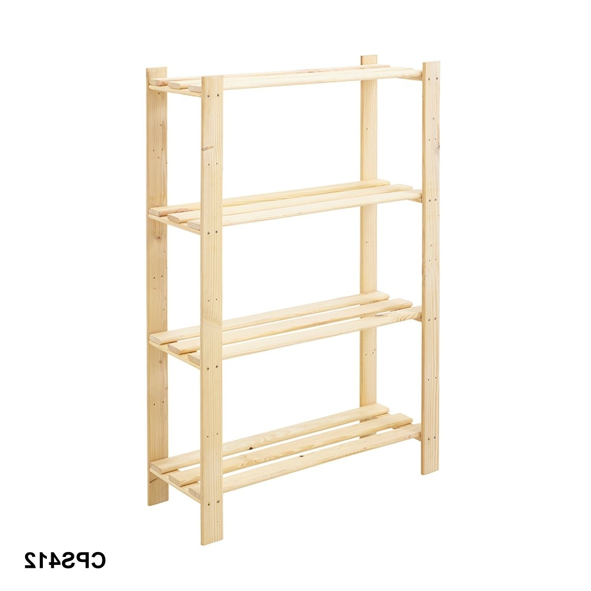 Wooden Shelving Units In Newest First Pine Wood Shelving Unit Stor Pine Shelving To Creative Tier (View 12 of 15)
