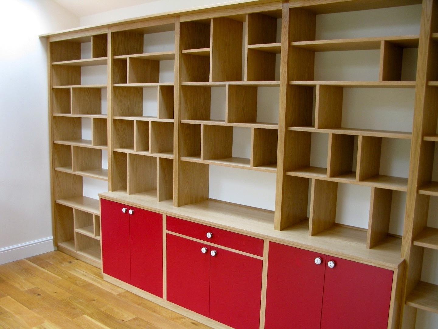 York Carpenters & Cabinet Makers – Fern Manor / Martin Smith With Current Bespoke Shelving (View 15 of 15)
