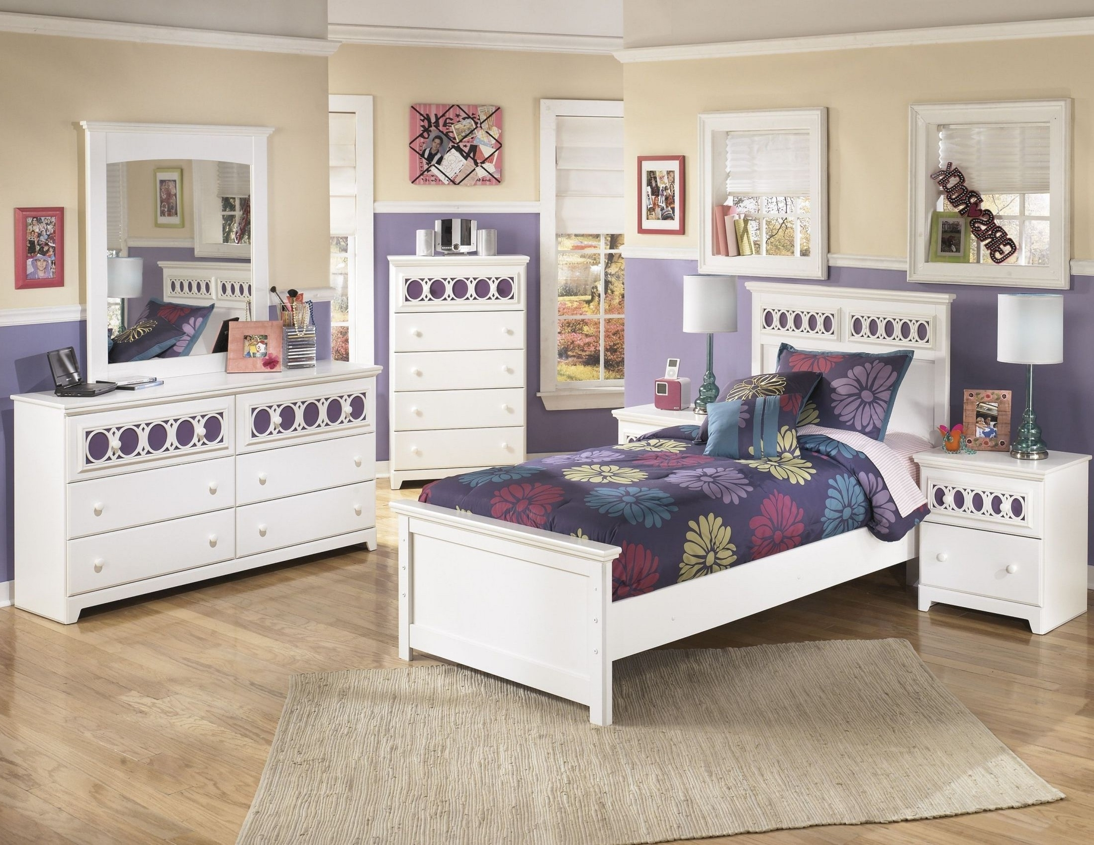 Zayley Full Bed Bookcases Within Most Popular Zayley Youth Panel Bedroom Set From Ashley (b131 53 52 (View 9 of 15)