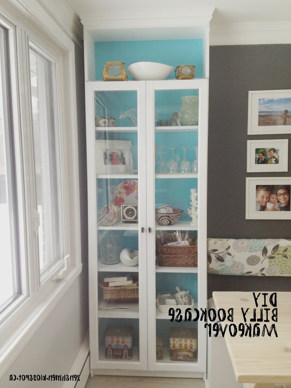 Zen Shmen!: Diy Billy Bookcase Makeover Intended For Most Up To Date Bookcases Cover (Gallery 9 of 15)