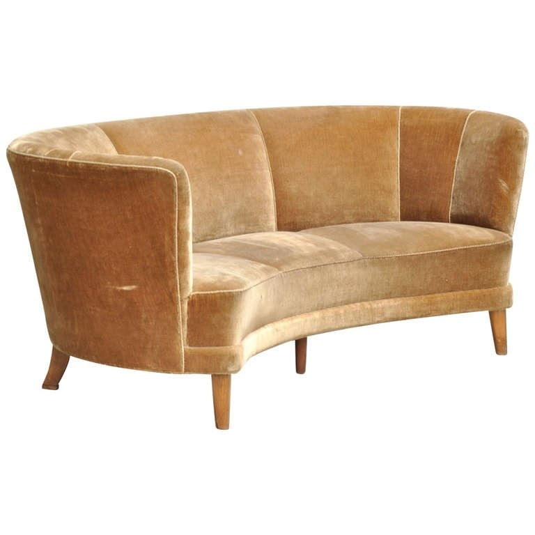 1930S Sofas With Regard To Popular Danish Banana Form Sofa On Birch Legs, Circa 1930S At 1Stdibs (View 4 of 15)