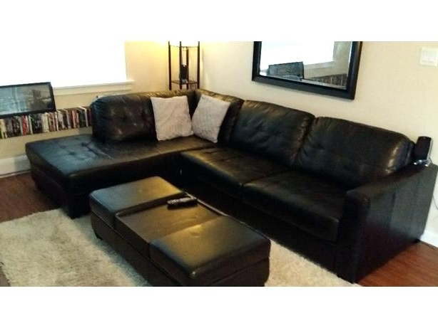 2 Piece Leather Sectional The Brick Leather Sectional Fresh The Regarding Famous The Brick Leather Sofas (View 3 of 10)