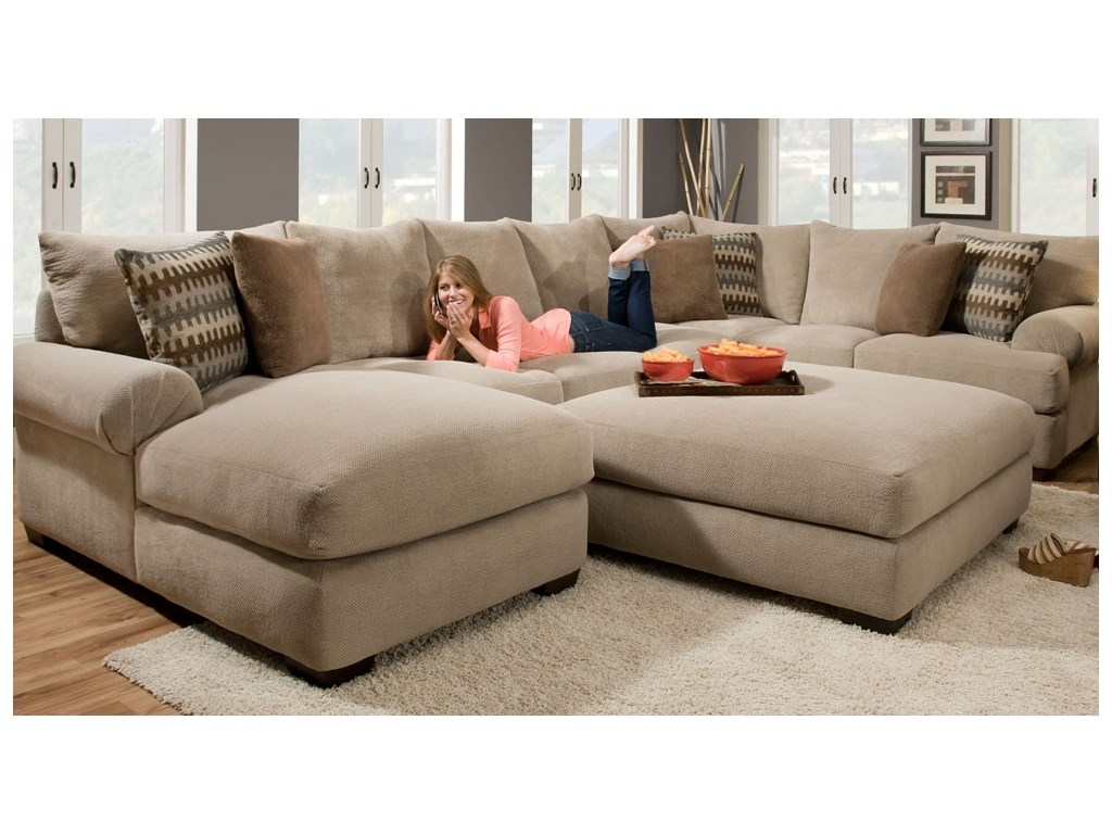 2 Piece Sectional Sofas With Chaise With 2018 Artwork Of 2 Piece Sectional Sofa With Chaise Design (View 6 of 15)