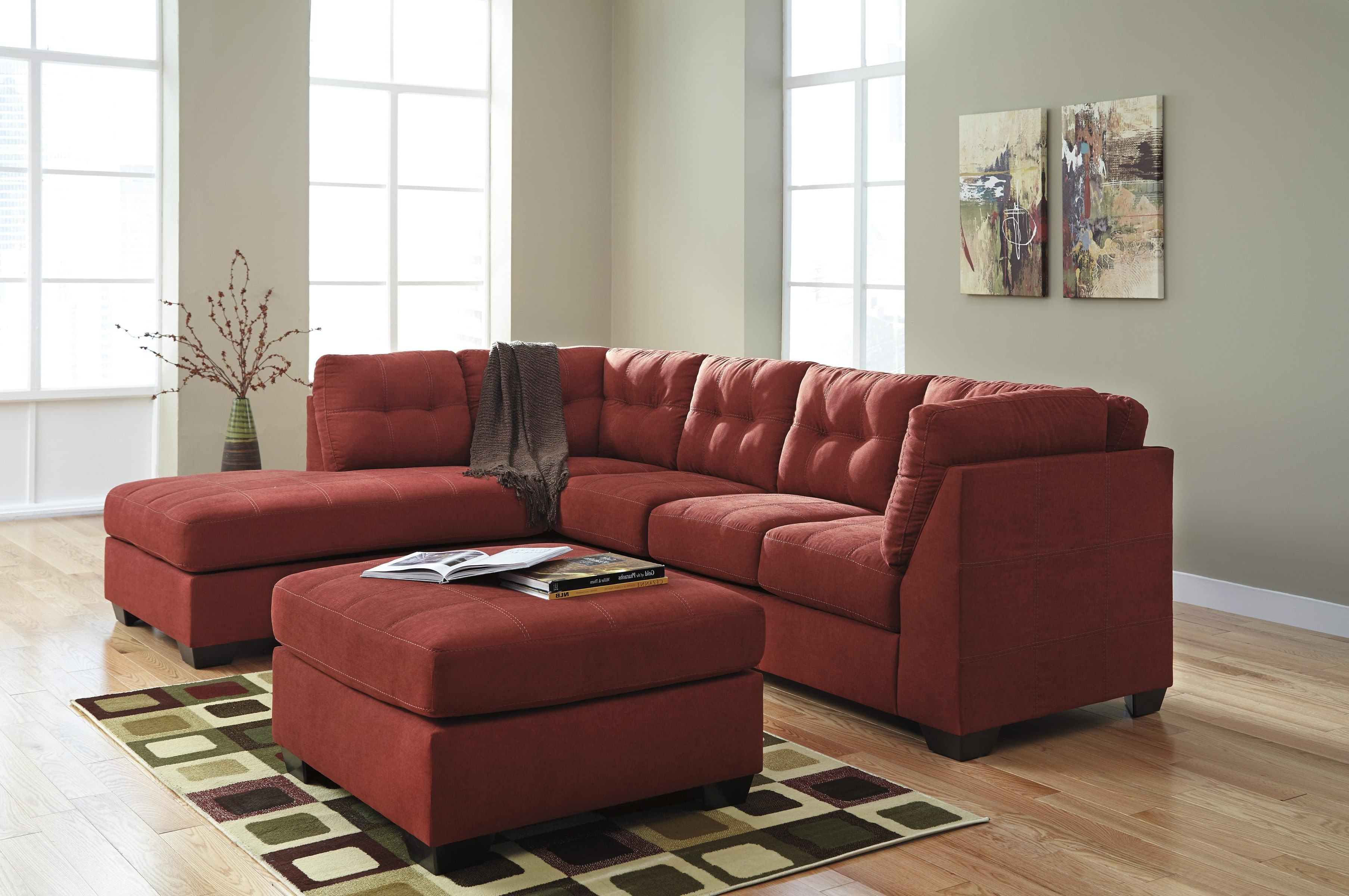 2 Piece Sectionals With Chaise Intended For Fashionable Benchcraft Maier – Sienna 2 Piece Sectional W/ Sleeper Sofa (View 5 of 15)