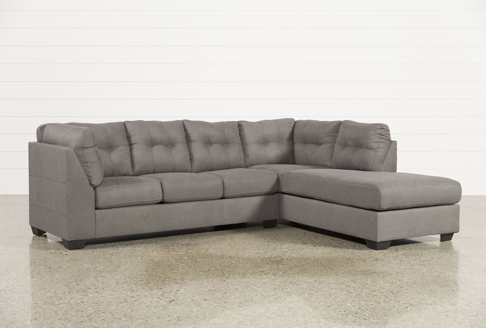 2 Piece Sectionals With Chaise With Most Up To Date Gray Sectional Sofa With Chaise Lounge (View 6 of 15)