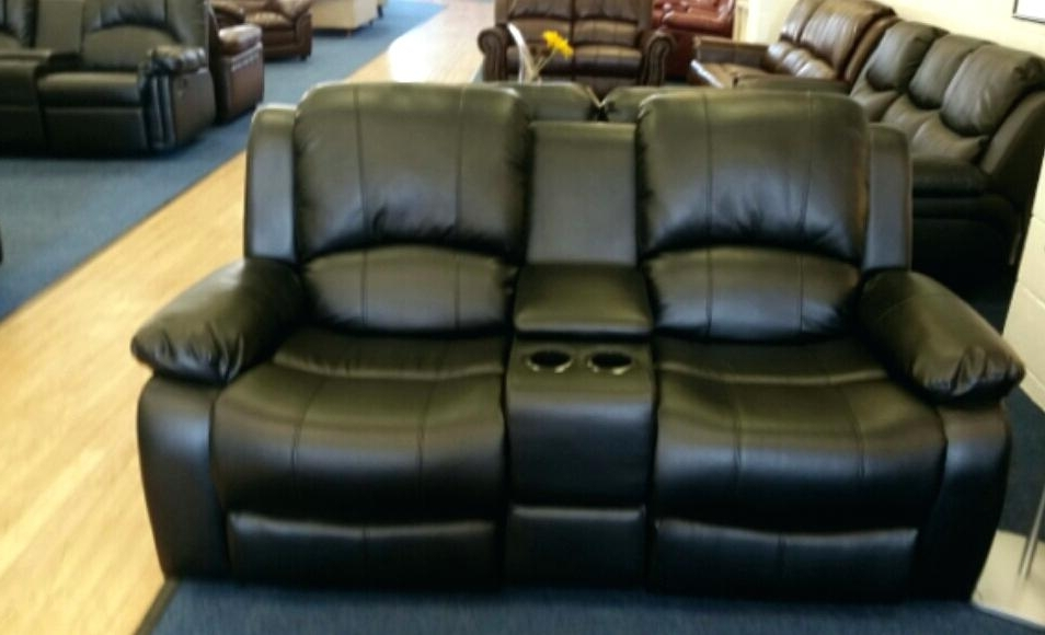 2 Seater Recliner Leather Sofas Throughout Most Recent Amazing Two Seater Recliner Leather Sofa Photos – Gradfly (View 1 of 15)