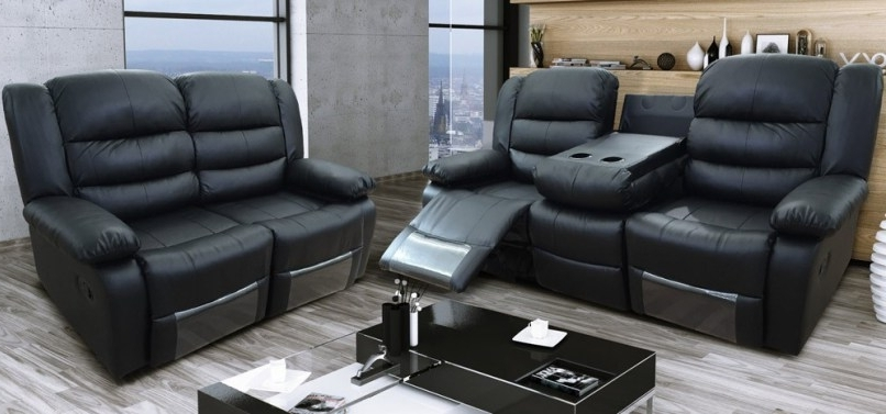 2 Seater Recliner Leather Sofas With Regard To Most Popular Outstanding 2 Seater Electric Recliner Leather Sofa 89 For Your (View 3 of 15)