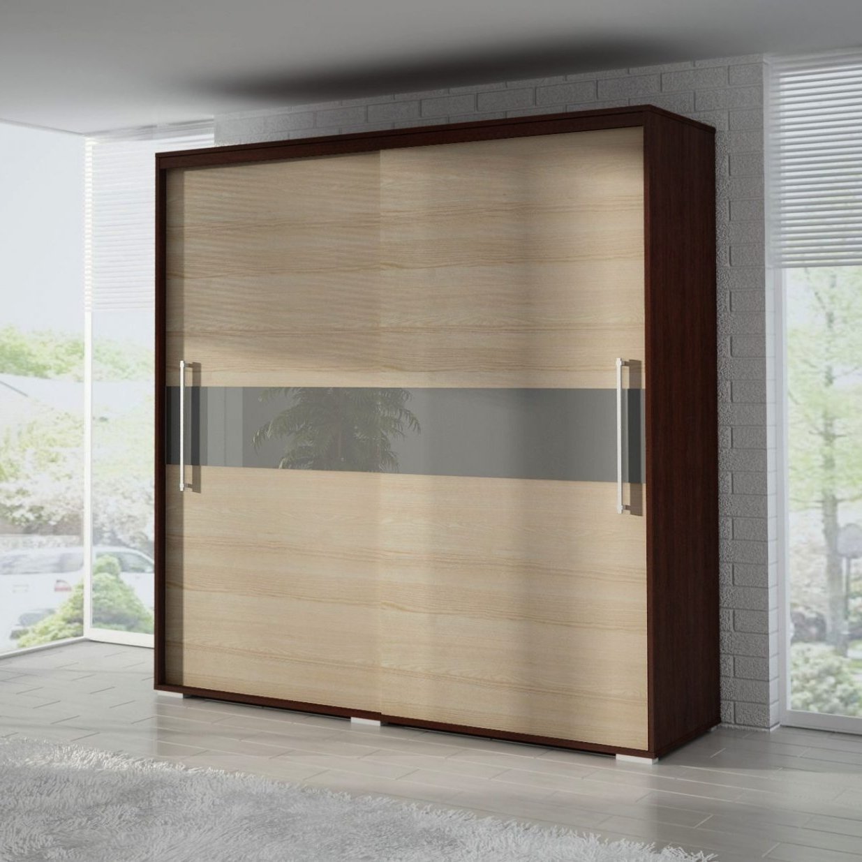 2 Sliding Door Wardrobes For Current 2 Door Sliding Wardrobe (View 1 of 15)