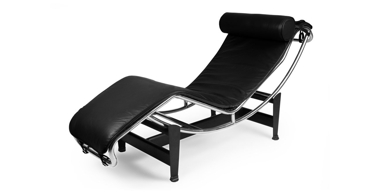 2017 Black Leather Chaise Lounges Within Amazon: Kardiel Gravity Chaise Lounge, Black Aniline Leather (View 13 of 15)