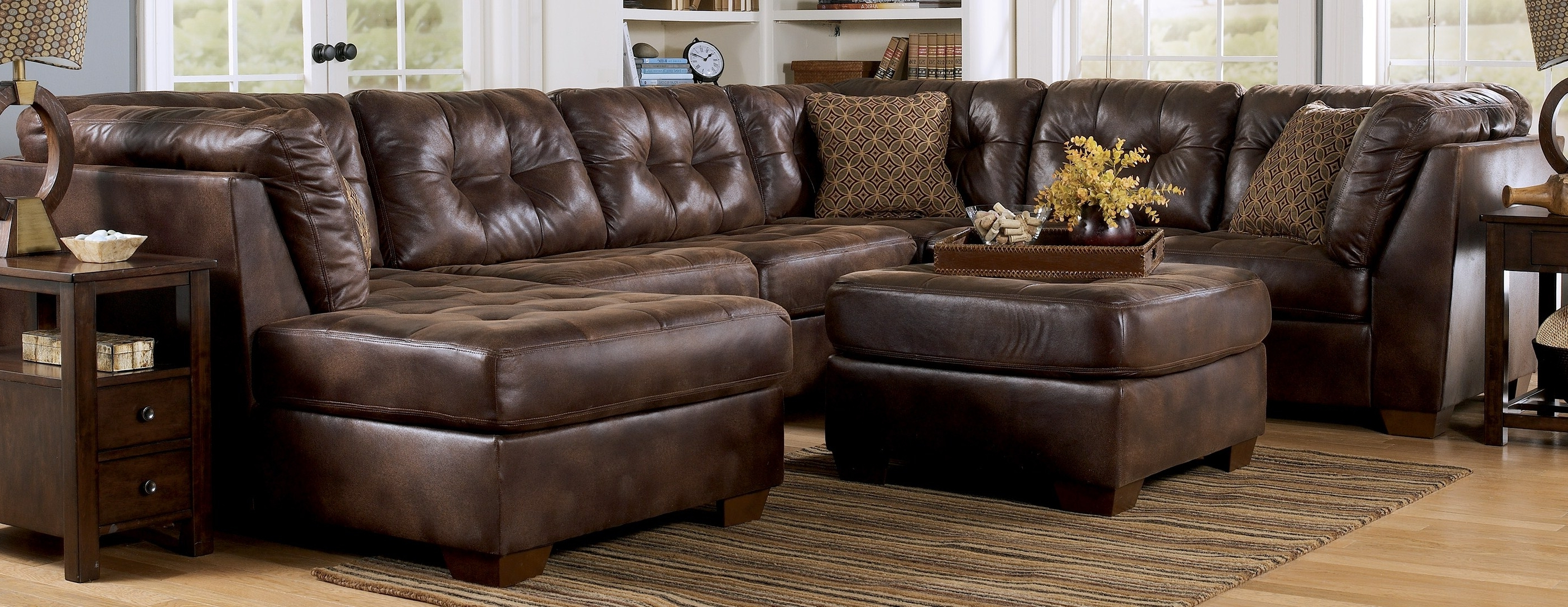 2017 Brown Leather Sectionals With Chaise Inside Big Lots Recliners Ashley Furniture Sectional Sofas Cheap (View 1 of 15)