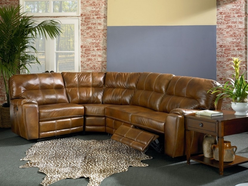 2017 Captivating Leather Sectional Recliner Sofa – Interiorvues Within Leather Motion Sectional Sofas (View 10 of 10)