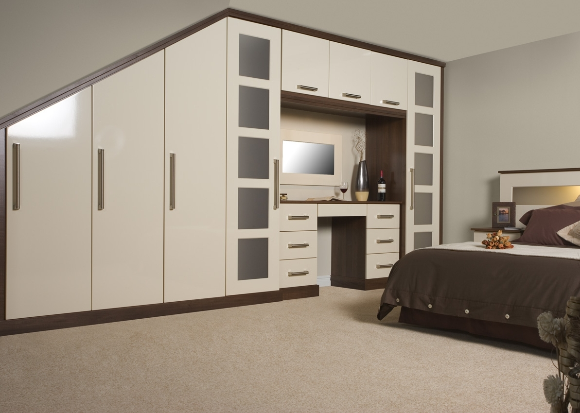 2017 Combination Of Silver And Black Wardrobe Furniture Images – Google Pertaining To Bed And Wardrobes Combination (View 2 of 15)