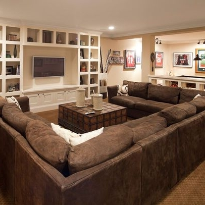 2017 Comfortable Living Room Art Ideas And Best 25 U Shaped Sectional Regarding Big U Shaped Sectionals (View 1 of 10)