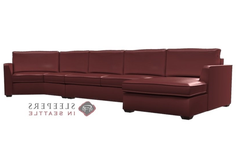 2017 Customize And Personalize Strata Chaise Sectional Leather Sofa Throughout Angled Chaise Sofas (View 2 of 15)