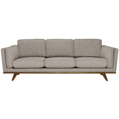 2017 Dahlia 3 Seat Fabric Sofa (View 7 of 10)