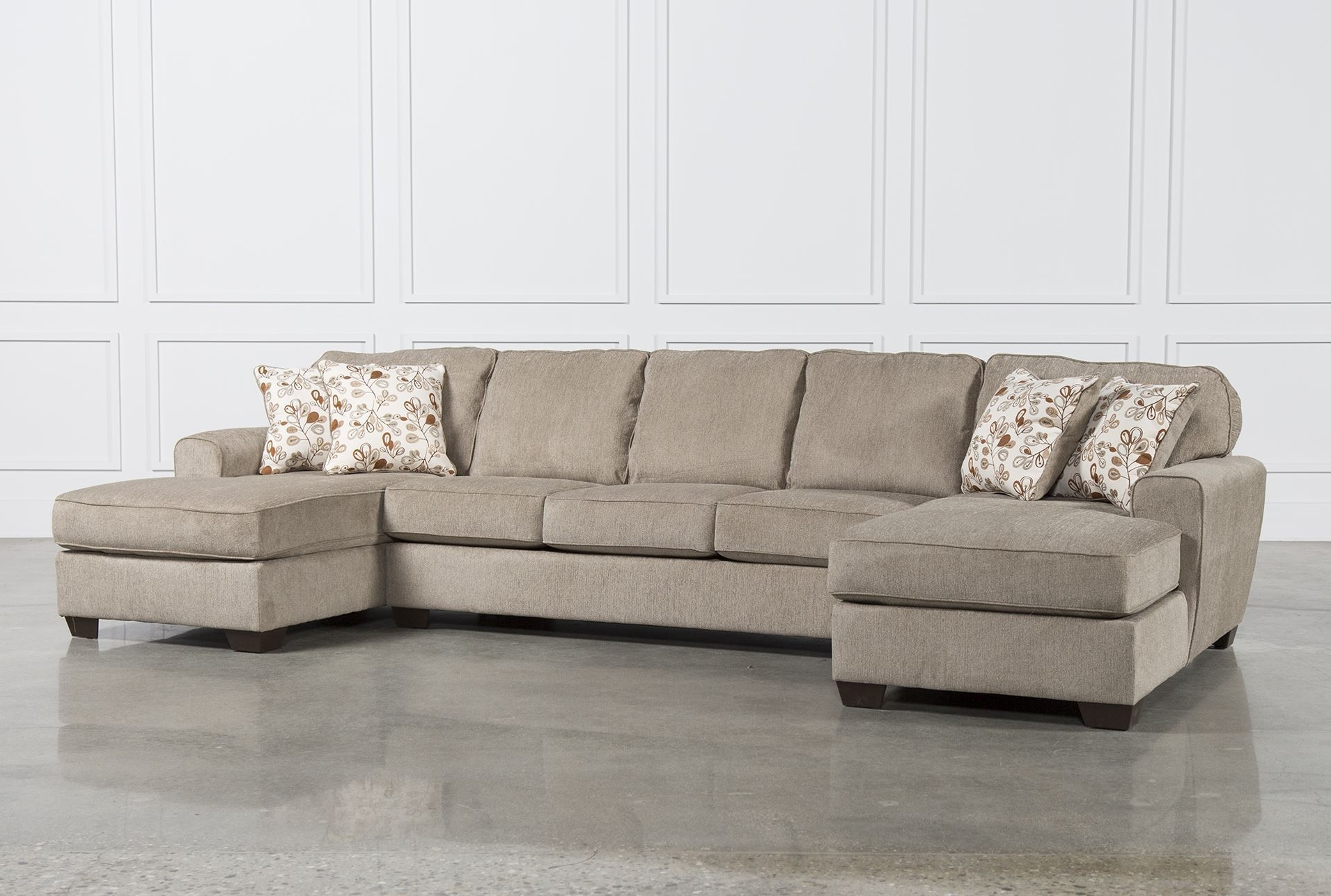Sectional Sofa With 2 Chaises Lounge Ii 2 Piece Double