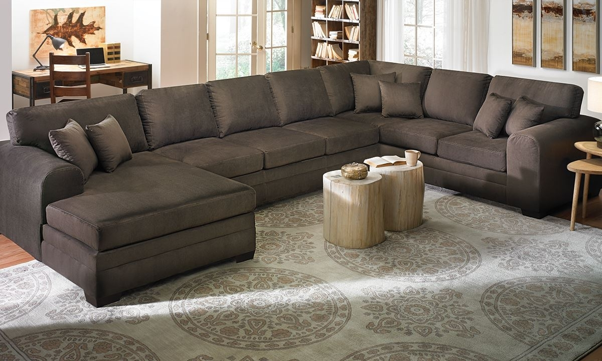 2017 Furniture: Arhaus Sectional For Easily Blends With Any Home With Dual Chaise Sectionals (View 15 of 15)