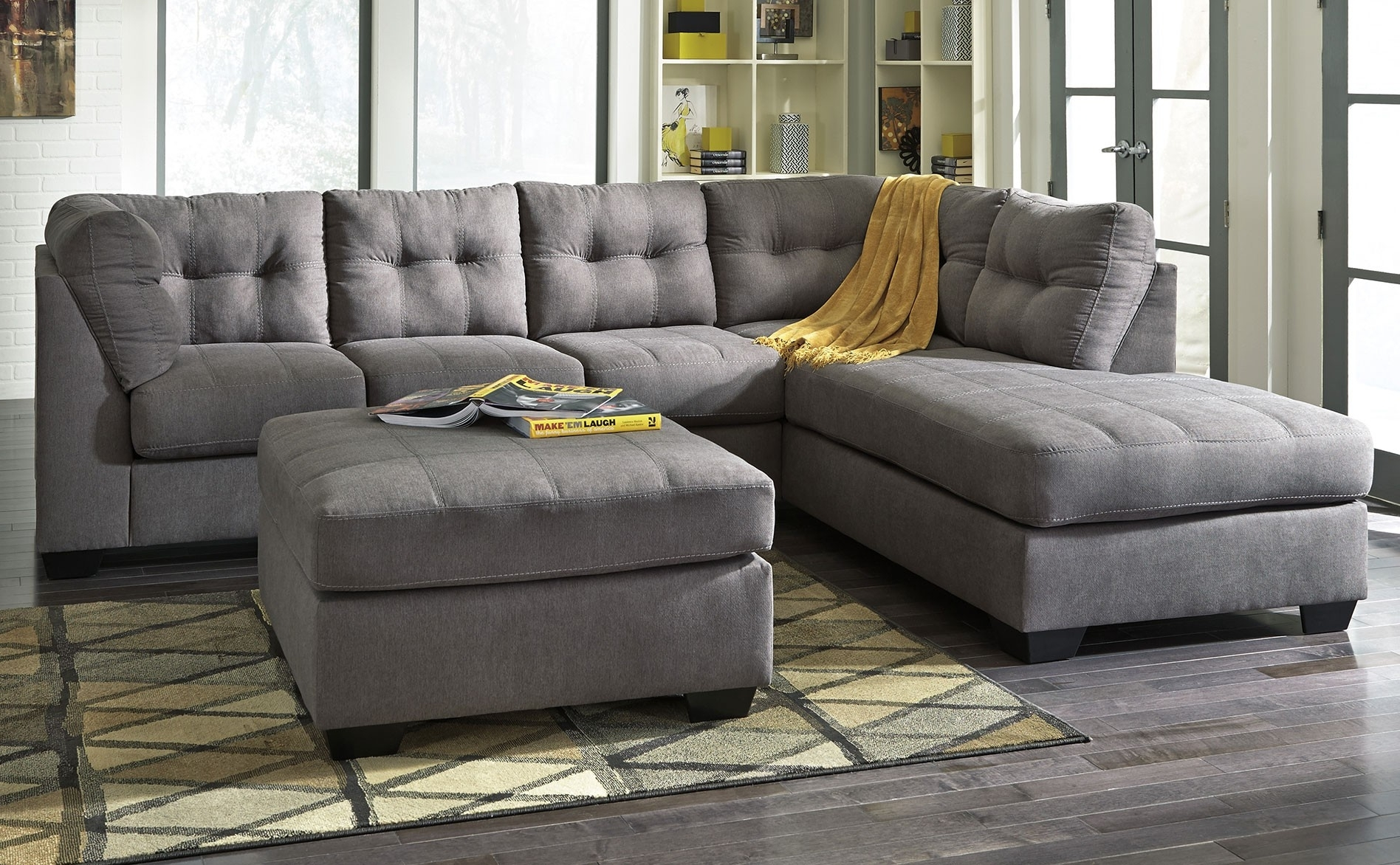 2017 Grey Sectionals With Chaise For Best Ideas Of Sectionals With Chaise Lounge Also Living Room Grey (View 2 of 15)