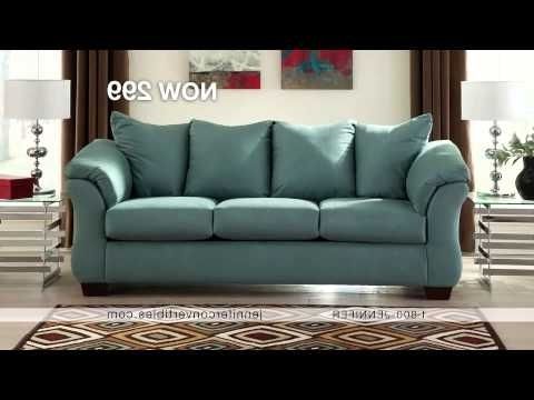 2017 Jennifer Sofas Throughout Jennifer Convertibles Commercial Narrateddebbie Irwin – Youtube (View 1 of 10)