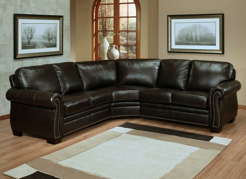 2017 Latest Small Sectional Leather Sofa Small Leather Sectional Sofa For Leather Sectional Sofas (View 1 of 10)