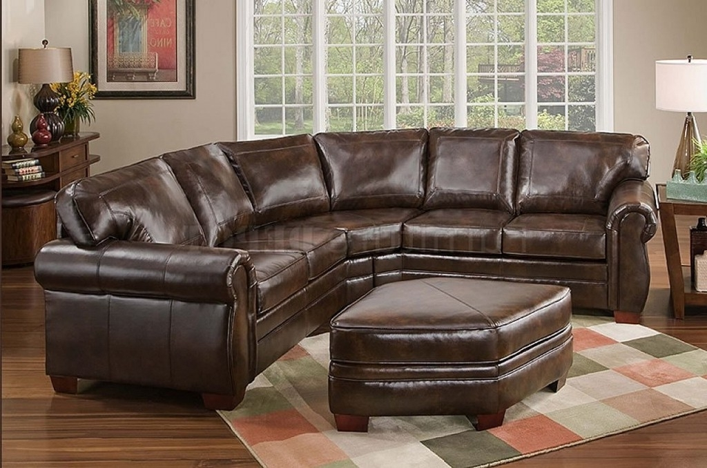 2017 Leather Sectional Sofas Inside Leather Sectional Sofas Be Equipped Real Leather Sectional Be (View 2 of 10)
