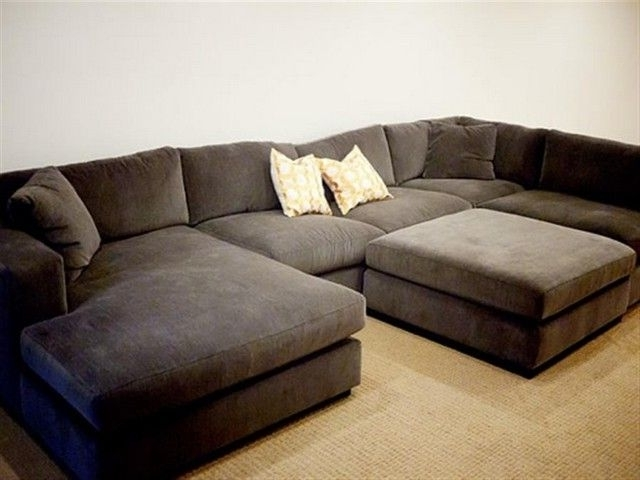 2017 Long Sectional Sofas With Chaise For Add Comfort And Elegance To Your Home With Wide Sectional Sofas (View 8 of 10)